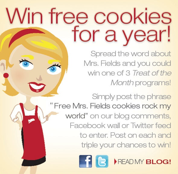 3 Ways to Win Free Cookies for a Year! blog image 1