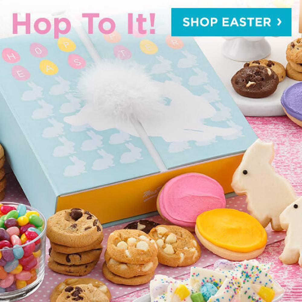 Hop To it!  Shop Easter