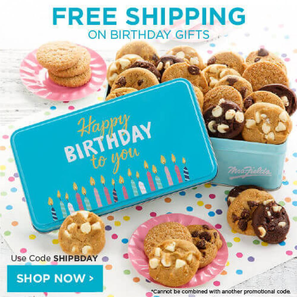 Free Shipping On Birthday Gifts