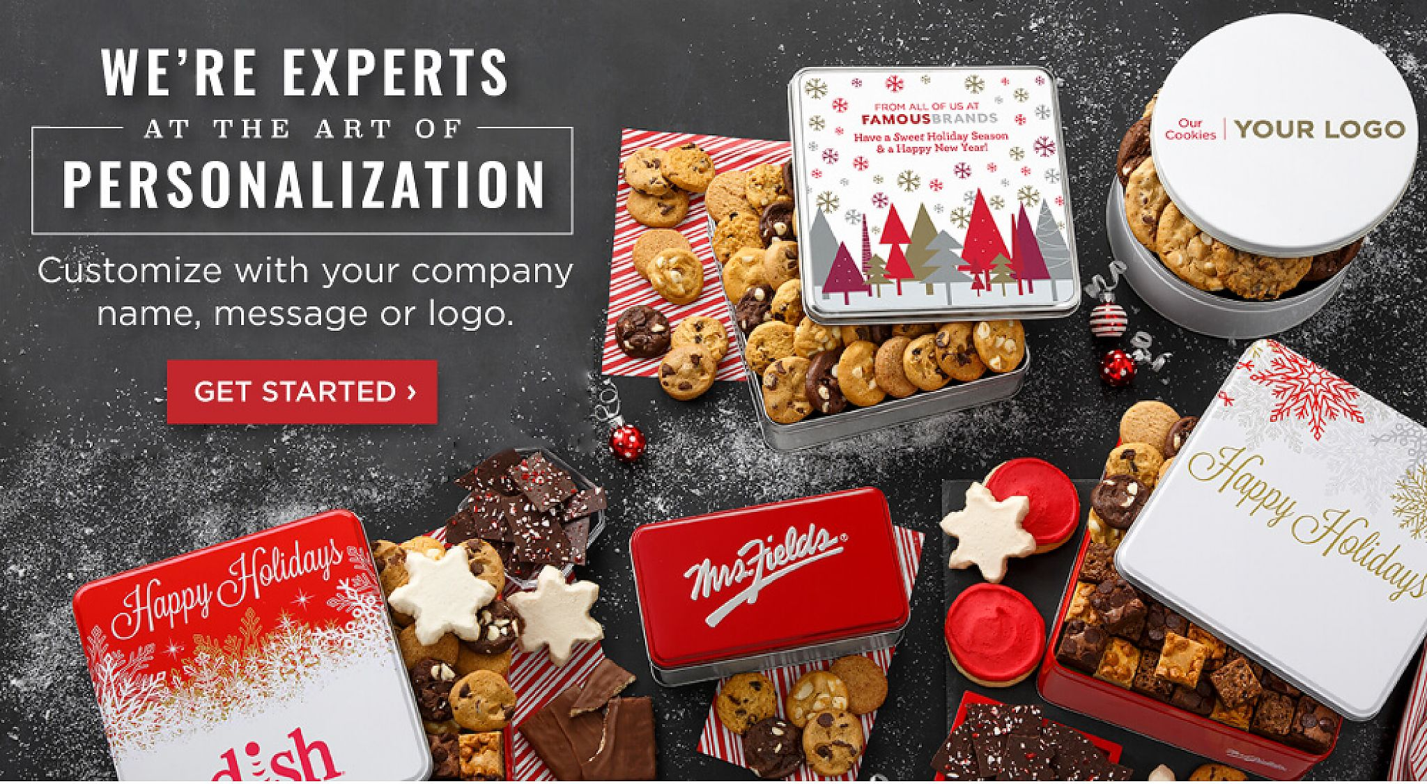Business Gift Baskets & Corporate Cookie Gifts - MrsFields com
