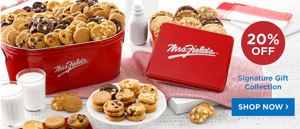 20% Off Mrs. Fields Signature Gift Collection