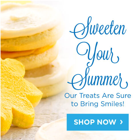 Sweeten Your Summer With Cookie Treats Happy Birthday Cake Gifts