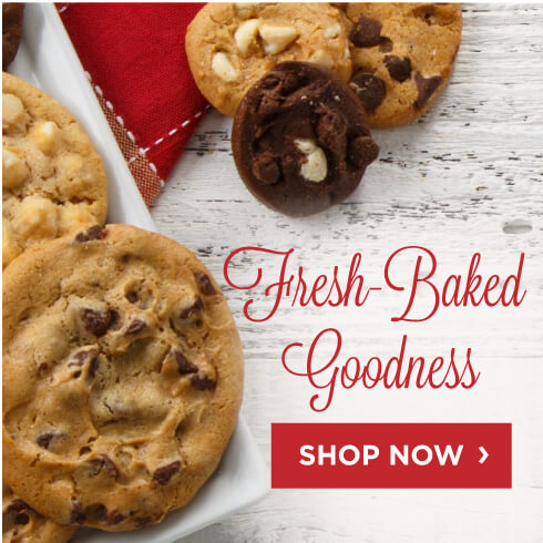 Fresh Baked Cookies - Shop Now