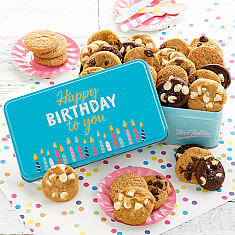 Birthday Cookie Gift Baskets Cookie Cakes All Ages Mrs Fields