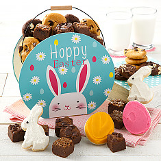 Easter cookie gift baskets cookie gifts delivery mrs fields happy easter cookie carryall negle Choice Image
