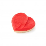 1 Red Heart Cookie