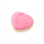 1 Pink Heart Cookie