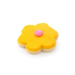 1 Yellow Flower Cookie