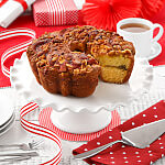Granny Smith Apple Cinnamon Walnut Coffee Cake