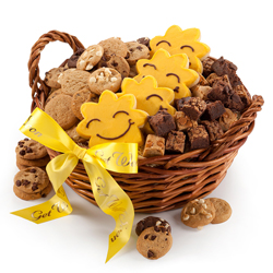 Get Well Sunshine Basket