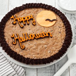 Happy Halloween Cookie Cake 2012