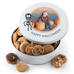 Fall Personalized Cookie Tin