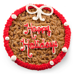 Happy Holidays Cookies Cake