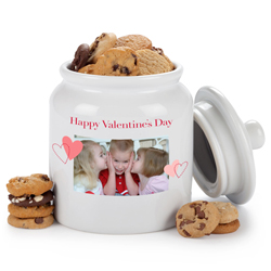 Valentines Personalized Cookie Jar