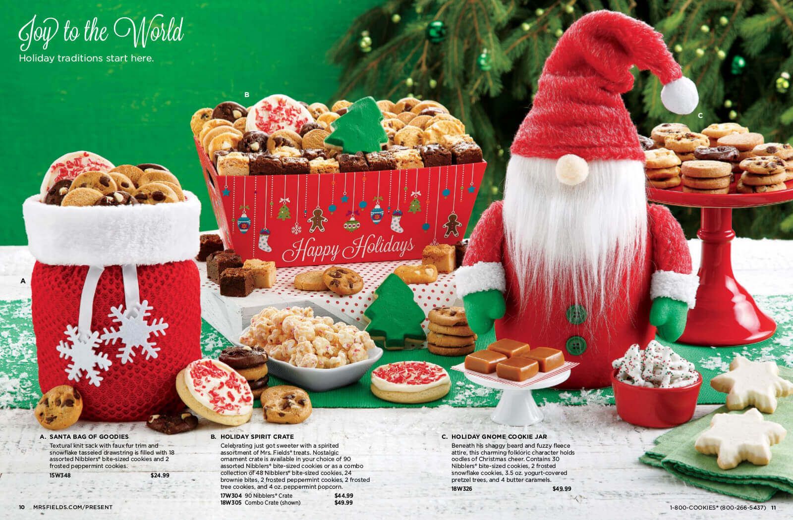 Mrs Fields It\'s Not Too Late! 2018 Holiday Catalog Online Catalog
