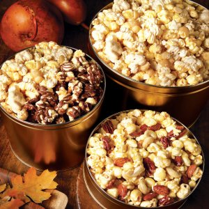wedding cake flavored popcorn recipe gourmet popcorn clusters mrs fields 22629
