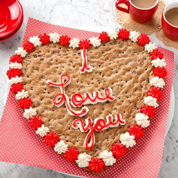 I Love You Big Cookie Cake