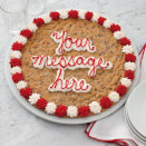 Round Personalized Cookie Cake