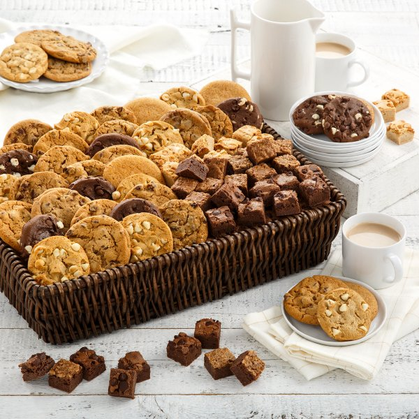 Cookies & Brownies Galore Basket