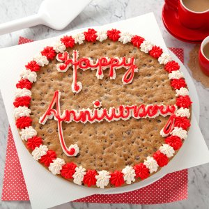 Happy Anniversary Big Cookie Cake
