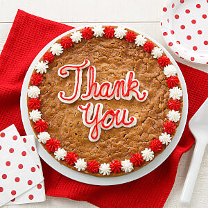Thank You Big Cookie Cake
