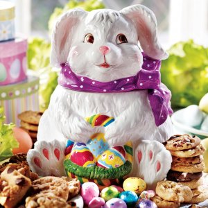 Easter Bunny Cookie Jar