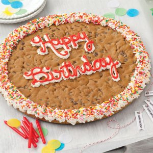 Happy Birthday Big Cookie Cake