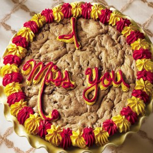 I Miss You Big Cookie Cake