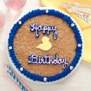 Happy Birthday Ducks Big Cookie Cake