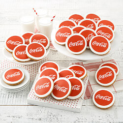 Logo Perfect Cookies - Coca-Cola