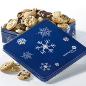 Mrs Fields Ameriprise Snowflake Tin
