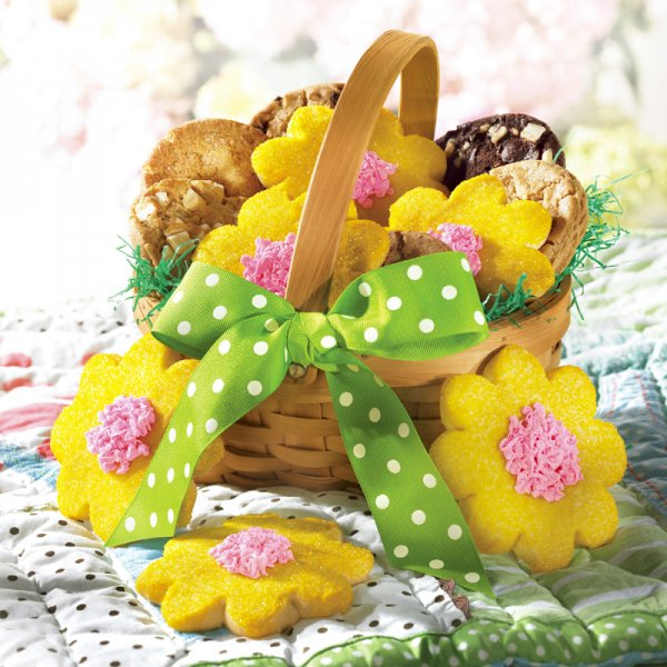 Coming Up Daisies Basket