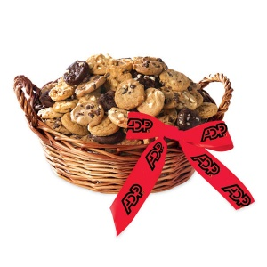 Mrs Fields Basket with 60 or 100 Nibblers