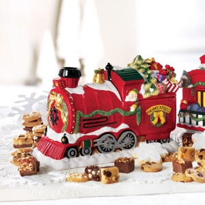 Holiday Express Cookie Jar