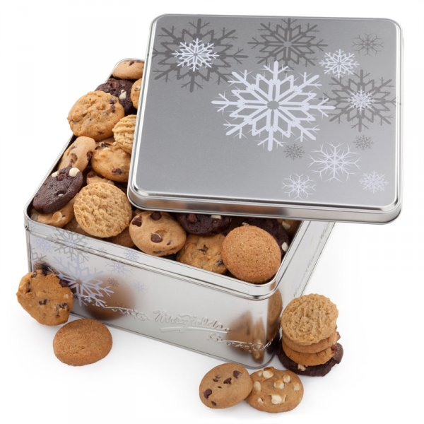 Holiday Snowflake Tin