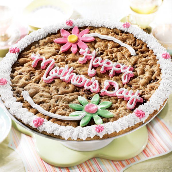 Mothers Day Big Cookie Cake