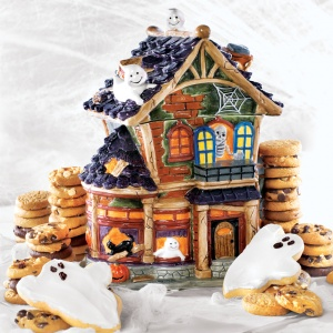 Mansion Cookie Jar
