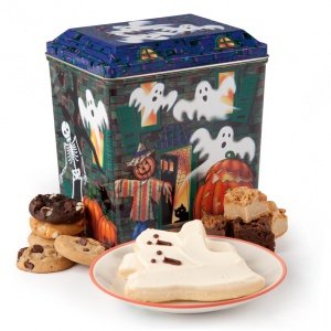 Haunted House Tin
