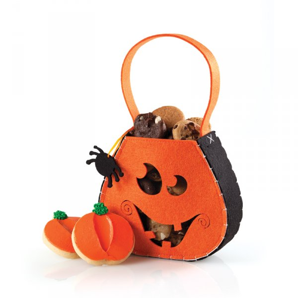 Smiling Pumpkin Satchel