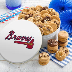 Atlanta Braves 48 Nibbler Tin