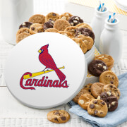 St Louis Cardinals 54 Nibbler White Tin