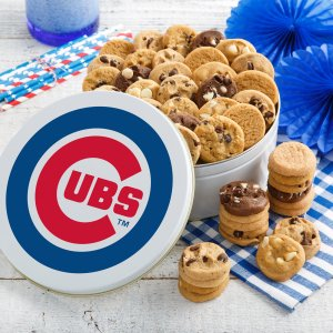 Chicago Cubs 54 Nibbler Tin