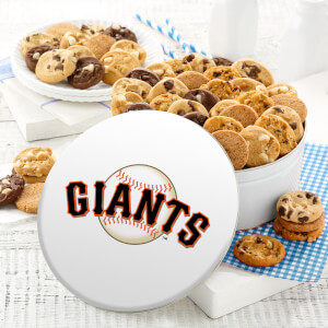 San Francisco Giants 48 Nibbler Tin