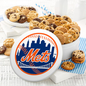 New York Mets 48 Nibbler Tin