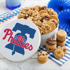 Philadelphia Phillies 54 Nibblers Tin