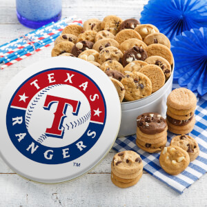 Texas Rangers 54 Nibbler Tin