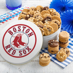 Boston Red Sox 54 Nibbler Tin