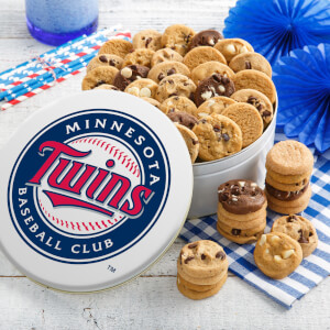 Minnesota Twins 54 Nibbler White Tin