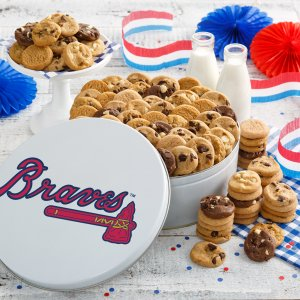 Atlanta Braves 112 Nibbler Tin
