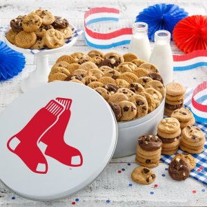 Boston Red Sox 112 Nibbler Tin